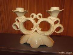 Porcelán gyertatartó