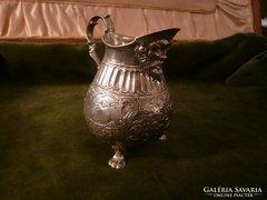 Antik ezüst tejkiöntő