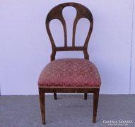 0C857 Antik támlás Biedermeier szék