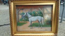 Szepesi Andor / Fehér ló