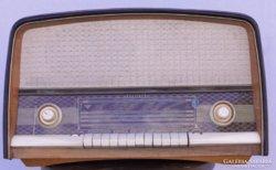 0C879 Antik elektroncsöves PACSIRTA rádió