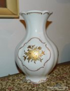 Bavaria Jaeger aranyozott öblös váza