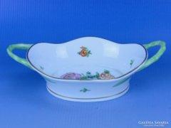 0D358 Régi Herendi porcelán mogyorós tálka
