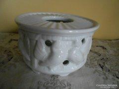 Porcelán kiöntő melegentartó
