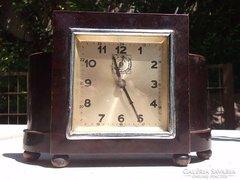 Art deco asztali óra Foreign 30-as évek Működő szerkezet