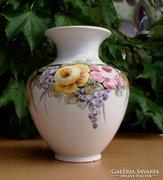 Gyönyörű nagy méretű kézifestésű váza
