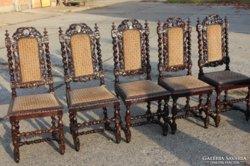 Reneszánsz,ónémet székek