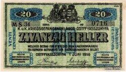 Ostffyasszonyfa 20 Fillér  - 1916 - UNC