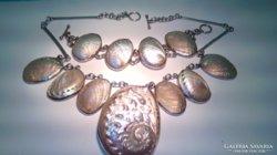 Abalone nyakék és karkötő