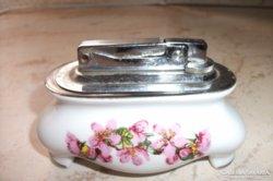 Antik porcelán gázos öngyújtó eladó!