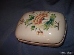 Hollóházi porcelán ékszeres