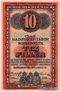 Sopronnyék 10 fillér - 1916 - UNC