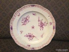 Antik Herendi tányér az 1870-es évekből + ajándék tartó