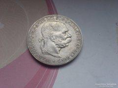 Ezüst 5 korona 1907