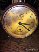 Antik Junghans csergő világítós asztali óra működik