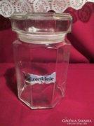 Üveg fűszertartó 18 cm