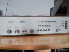 Minerva type 675 1967-es rádió tuner