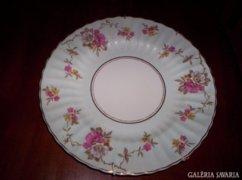 25.5 cm átm. angol porcelán tányér,  dísztál