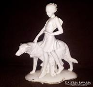 Fasold & Stauch Wallendorf Art-deco Porcelán