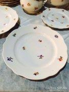 1 db Zsolnay kisvirágos nagy süteményes tányér,lapostányér