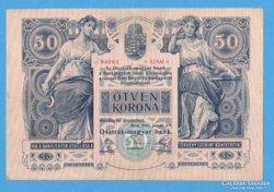 50 korona 1902. EF+