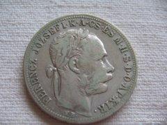 Ferenc József  Ezüst 1 Forint 1883