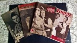 4 darab magazin a 60-as és 70-es évekből.