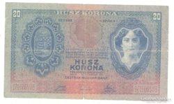 20 korona 1907 Ritka II.