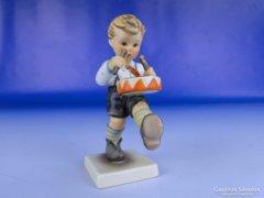 0E551 Antik Hummel porcelán dobos kisfiú TMK 4