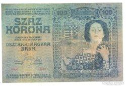 100 korona 1910 Nagyon Ritka!
