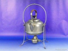 0E398 Régi spiritusz égős teafőző