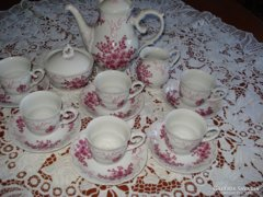 Hollóházi antik 6 sz. kávéskészlet