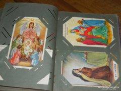 Antik képeslap gyűjtemény - gyűjtő albummal
