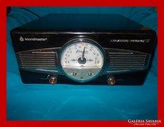 Retro rádió-lemezjátszó!  Classic Phono!!