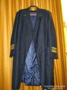 Tengerésztiszti hajózó hajós kapitány military kabát.