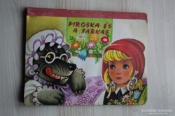 Kubasta - Piroska és a farkas kihajtós mesekönyv