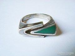 Skandináv designer ezüst gyűrű