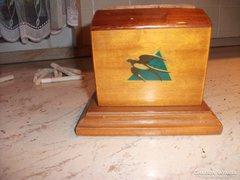 Antik fa cigarettatartó , kínáló eladó!