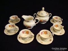Schumann Bavaria porcelán kávás készlet