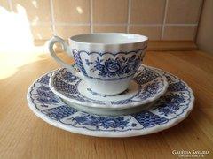 Myott Melody angol porcelán csésze reggeliző szett