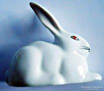 Hollóházi porcelán nyuszi