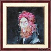 Szász Endre ihlette festmény