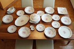 Zsolnay 6 személyes étkészlet