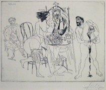 Szalay Lajos : Salome, Herodes, Herodias