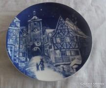 Bavaria fali tányér