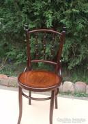 Felújított Mintás Thonet Mundus szék.