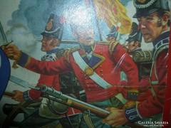 Régi játék gyűjtőknek airfix Waterloo British Infantry 1815