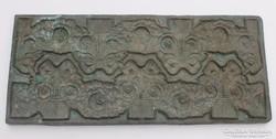 Antik bronz öntőforma