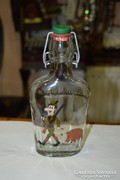 Vadászos üveg