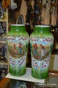 Tejüveg vázák